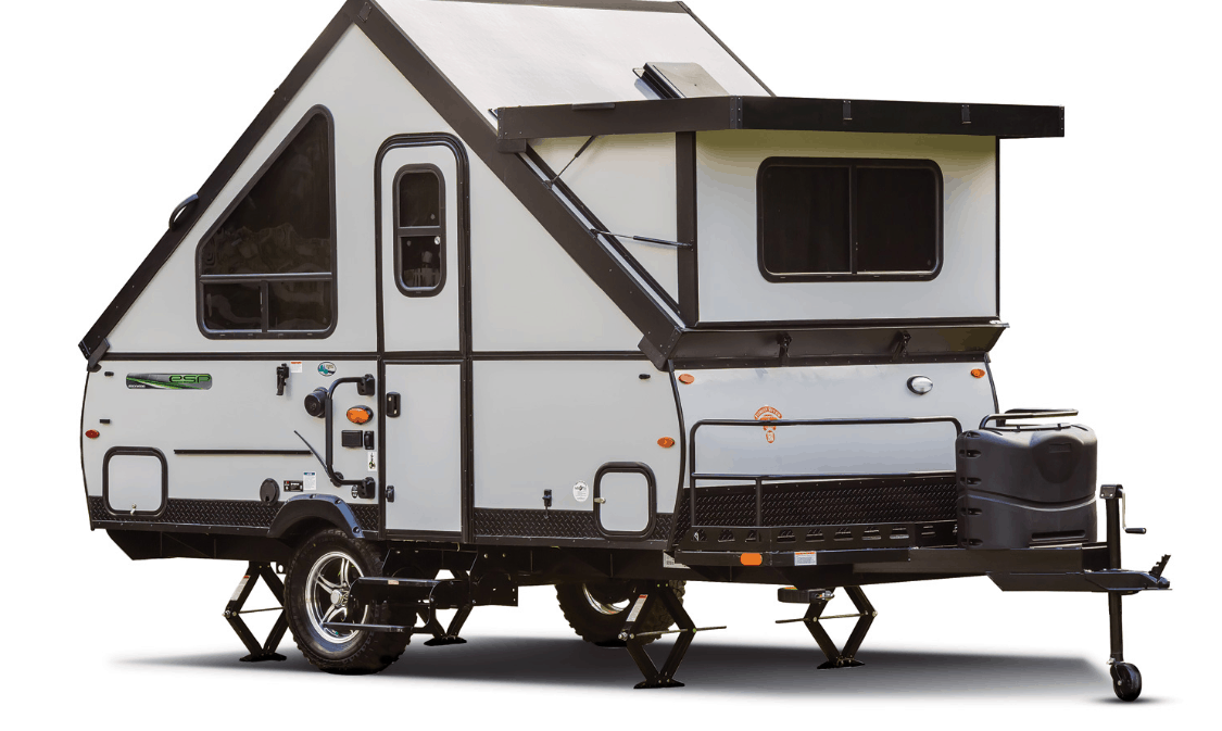 rockwood hard sided pop up camper